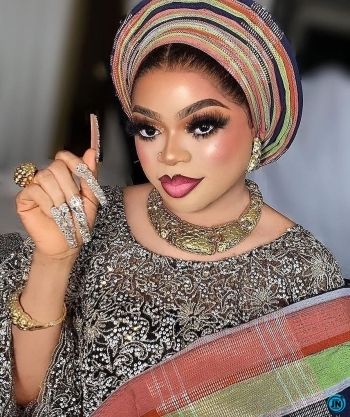 """""""If you don't use iPhone 12 don't come close to me for pictures"""" – Bobrisky warns fans"""